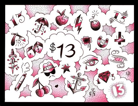 13 dollar tattoos 13 dollar tattoos on friday the 13th 2015 http