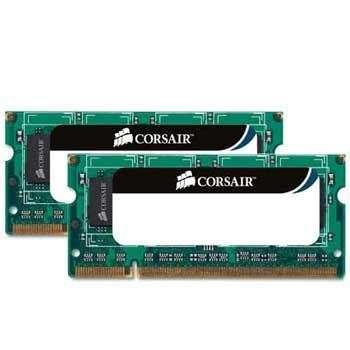 Corsair Sodim Ddr3 4gb 2 X 2gb Value Select Cmso4gx3m2a1333c9 corsair memory 8gb ddr3 so dimm pc3 8500 1066 dual