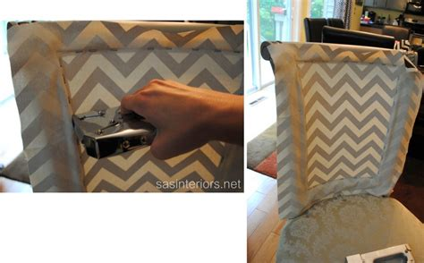 How To Upholster A Dining Room Chair by Diy Reupholstered Side Chair Jenna Burger