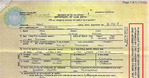 nso birth certificate change letter jeanbeltran how to change incorrect middle name on your