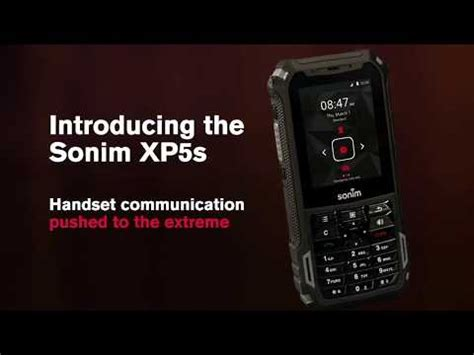 sonim xp5s video clips