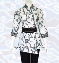 Blouse Batik Serasi Fashion 1 blus batik bm133 http senandung net blus batik wanita