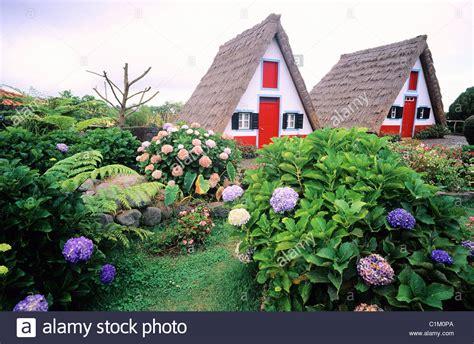buy house madeira portugal madeira island santana village on the north coast stock photo royalty free