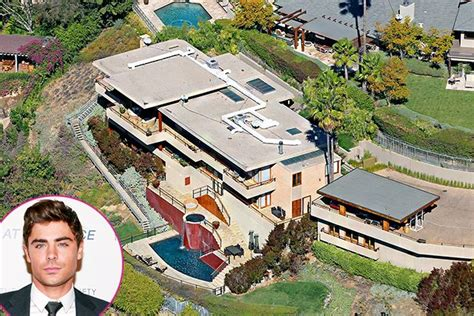 famous people houses celebrity real estate zac efron real estate and square feet