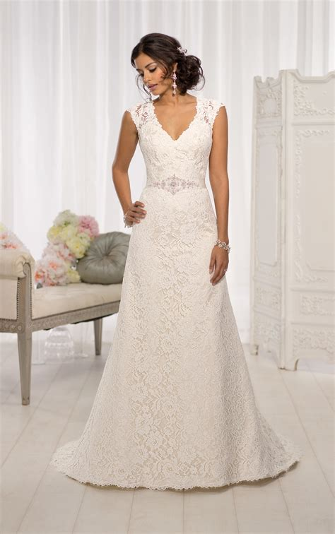 Wedding Dresses With Cap Sleeves by Wedding Dresses With Sleeves Cap Sleeve Wedding Dresses
