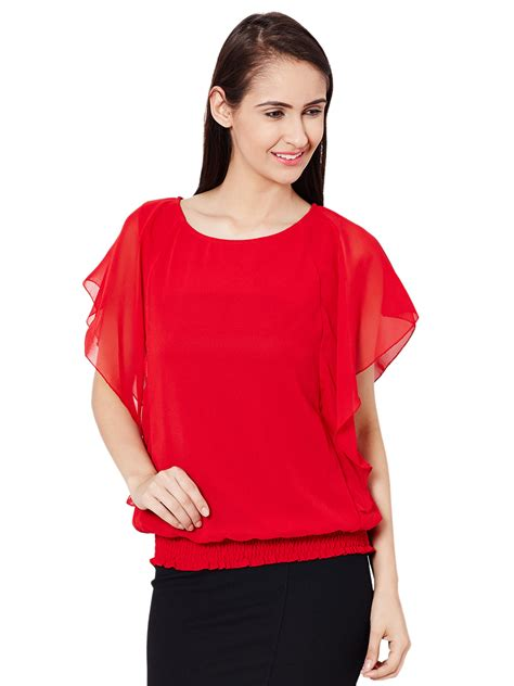 top with flared sleeves the vanca