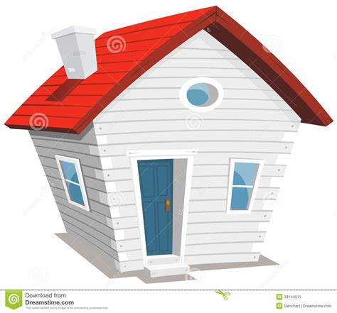 tiny house cartoon funny little house stock vector image of small lifestyle