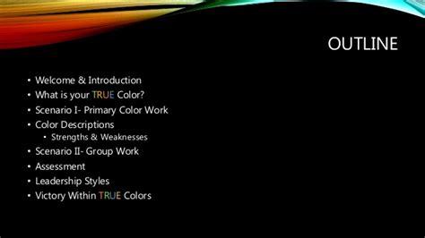 color of leadership true color of leadership