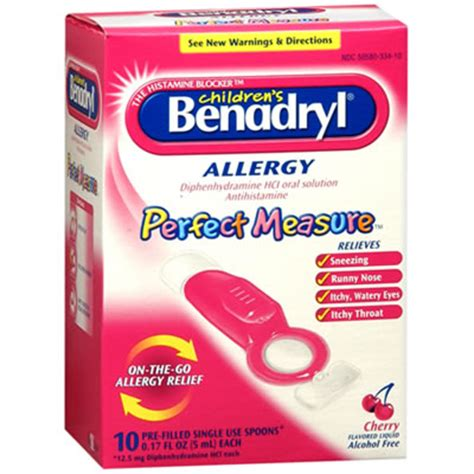 benadryl dosage for smokers cough