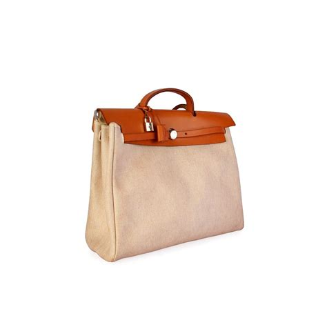 Restock Lv Tote Mini 2in1 1 hermes leather canvas herbag 2 in 1 beige luxity