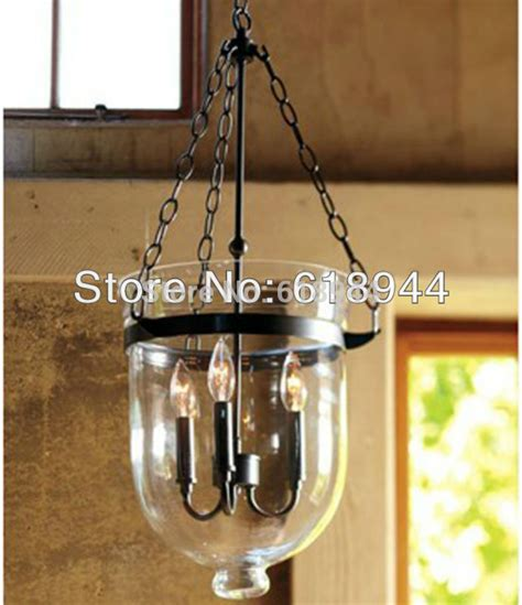 Dining Light Fittings American Country Glass Pendant L For Dining Room Light