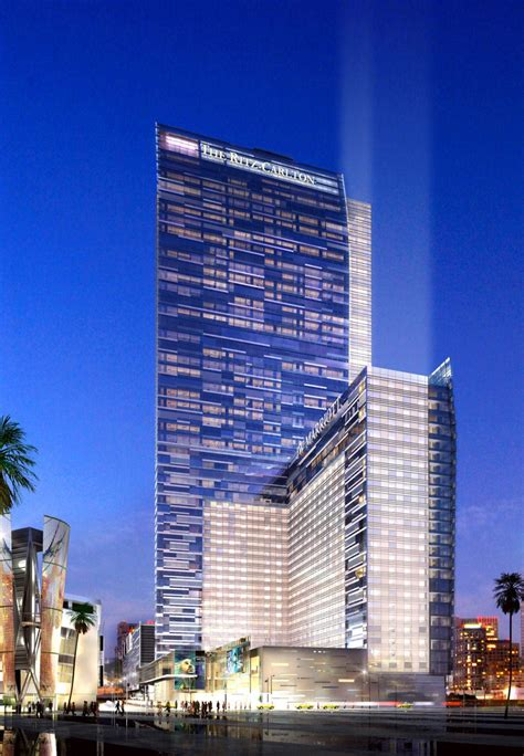 ritz carlton ritz carlton los angeles first five star hotel in