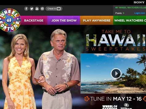 Disney Hawaii Sweepstakes - wheel of fortune quot take me to hawaii quot sweepstakes