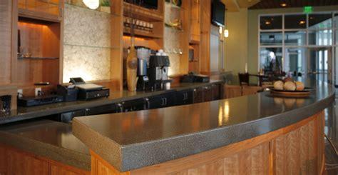 commercial bar top designs concrete bar top by curt m cheng concrete exchange