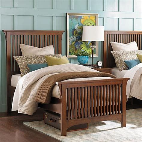 bassett mission sofa grove park twin gallery bed by bassett furniture bedroom