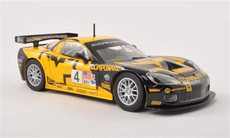 Wheels Corvette C6r Gift Cars chevrolet corvette c6r no 4 compuware o gavin burago