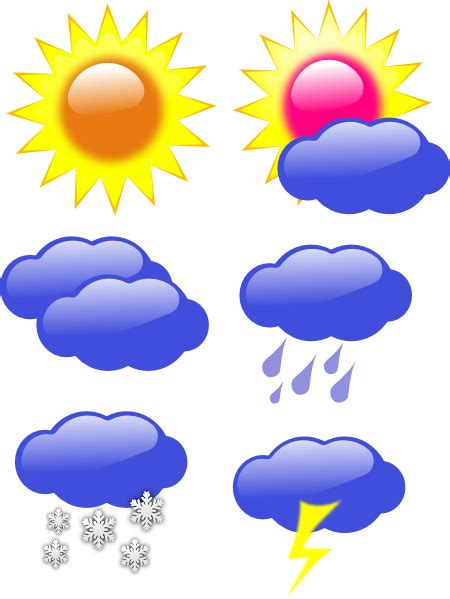 Weather Board Clip Art at Clker.com - vector clip art ... Free Clip Art Weather Pictures