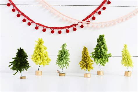 christmas trees to cut yourself original decorations which you can craft yourself