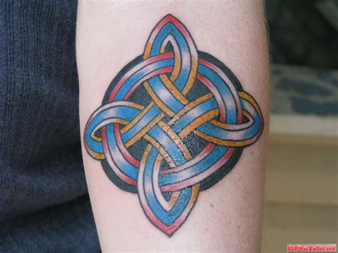 cross star tattoos celtic tattoos