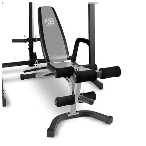 marcy weight bench accessories marcy deluxe smith cage system with weight bench pm 5108