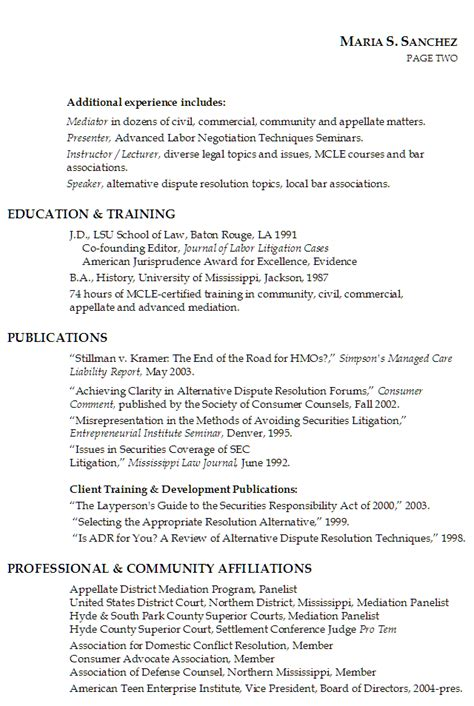 sle attorney resumes sle resume new attorney resume 28 images 11 family