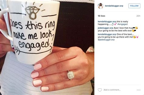 Animal Mug wedding instagram cute posts to announce your engagement