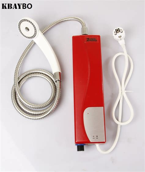 doccia elettrica istantanea senza serbatoio elettrico water heater acquista a poco