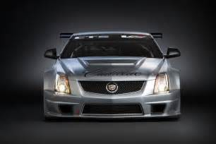 Cadillac Volt Cadillac Cts V Race Car Hits The Track For The Time