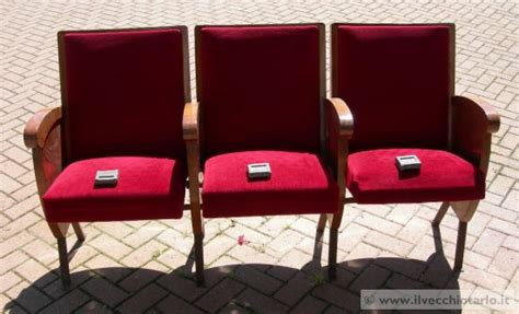 sedie cinema vendita sedie cinema teatro antiquariato