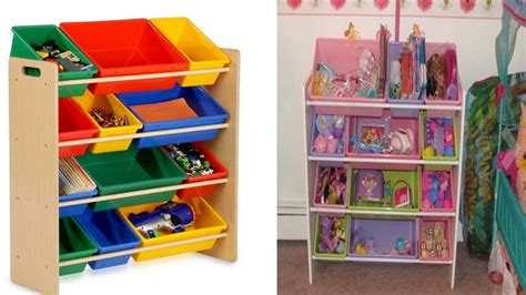 youtube organizer honey can do toy organizer and kids storage bins review