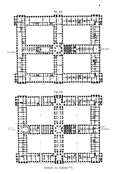 palace of caserta floor plan archi maps