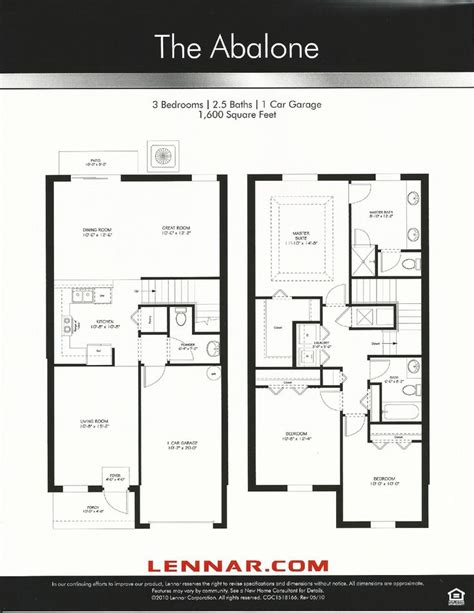 terrace floor plans nona terrace abalone floor plan in orlando fl nona