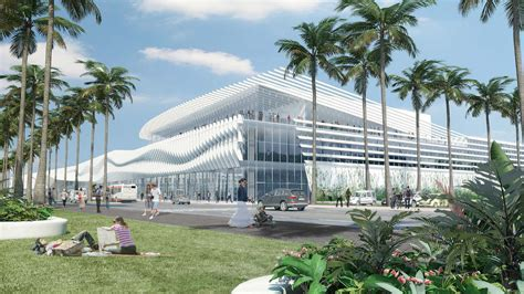 layout of hotel and convention center miami beach convention center tag archdaily