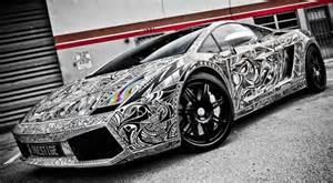 Sharpie Lamborghini Gallardo Lamborghini Gallardo Car With Sharpie Sketch Vinyl