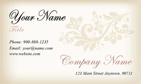 wedding business card template gradient wedding planner business card design 701031