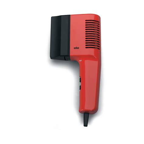 Braun Hair Dryer Parts a history of braun design part 5 haircare products core77