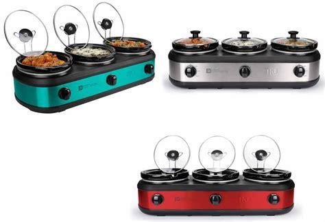 cooker buffet tru buffet cooker 3 crock set