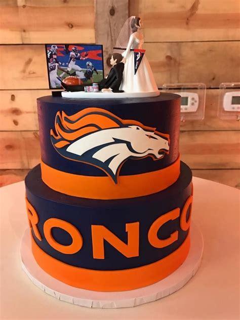 Best 25  Denver broncos cake ideas on Pinterest   Denver