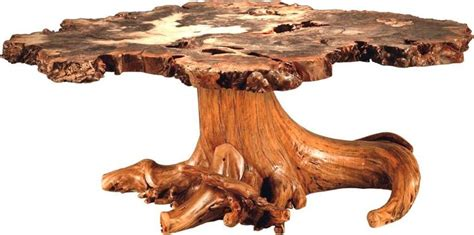 Wooden Stump Coffee Table Burl Wood Coffee Table With Stump Base By Dutchcrafters Amish