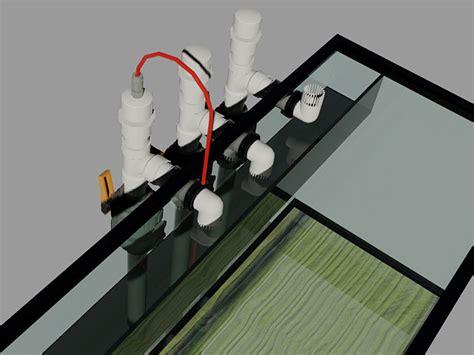 aquarium drain design overflow ideas for my 75 build the reef tank