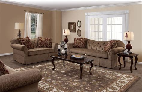 Living Room Groupings by Famu Copper Living Room 8700cop Living Room Sets