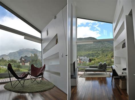 Office, Casa S, Mountain House in Argentina by Alric