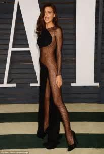 Vanity Fair Irina Shayk Irina Shayk Arrives At The Vanity Fair Oscars Bash In A