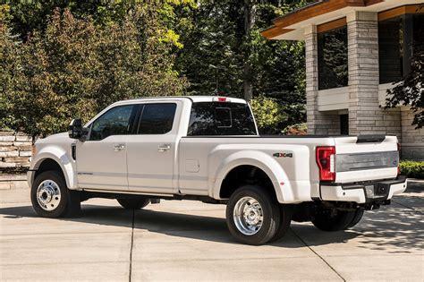 ford  series super duty trucks gain  luxurious limited trim motor trend