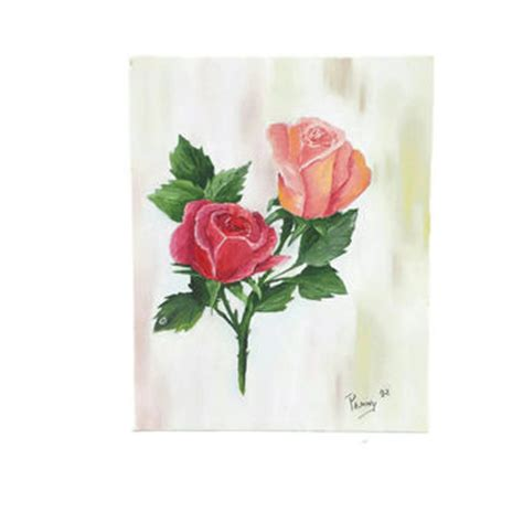 Wall Hanging Vintage Shabby Flower Picture best canvas paintings products on wanelo