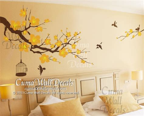 Cherry Blossom Wall Decal For Nursery Nursery Wall Decal Cherry Blossom Tree Cuma Wall Decals