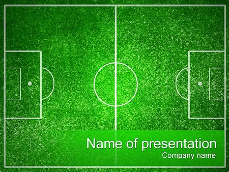 Co De F 250 Tbol Plantillas De Presentaciones Powerpoint Y Fondos Id 0000002345 Smiletemplates Com Football Field Powerpoint Template