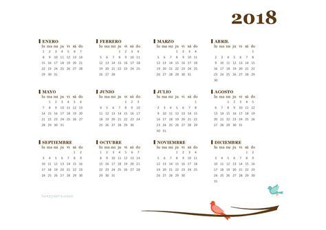 imagenes gratis año 2018 calendario 2018 m 225 s de 150 plantillas para imprimir y