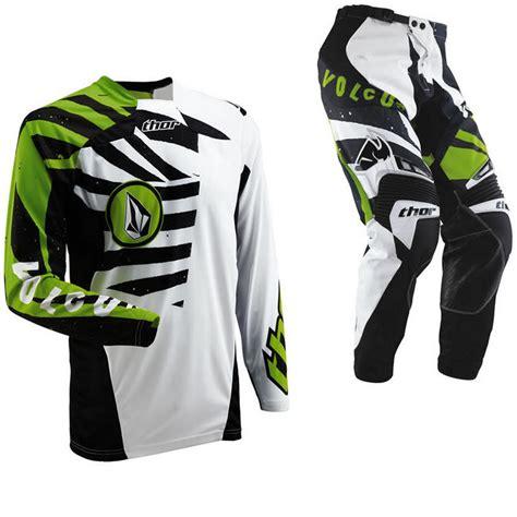 volcom motocross gear thor s13 volcom motocross kit clearance