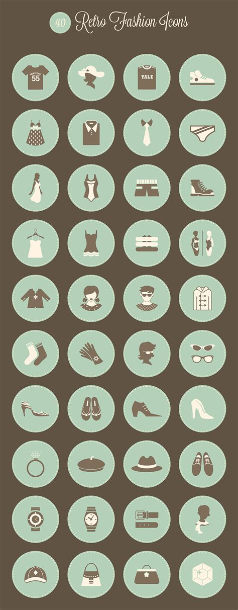 how to make a retro icon style using the appearance panel blog one page mania